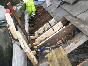 Subud House Roof_Dry rot repairs